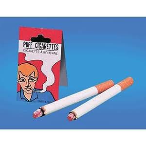 Loftus Joker Fake Puff Cigarettes (2 Pack), White/Orange