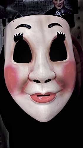 Home Comforts Peel-n-Stick Poster of Halloween Costume Fear Halloween Costume Face Mask Poster 24x16 Adhesive Sticker Poster -