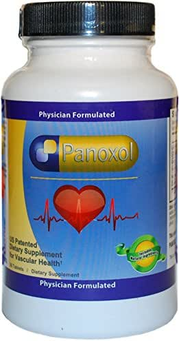 Panoxol – Patented 100% Natural Dietary Ingredients - Herbal Supplement - Amino Acids & Herbs - Nitric Oxide - Promotes Heart Health, Normal Blood Pressure and Improved Cardiovascular Health