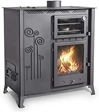 Cocina mixta de madera pellet con horno de cocina de 12 kW ...