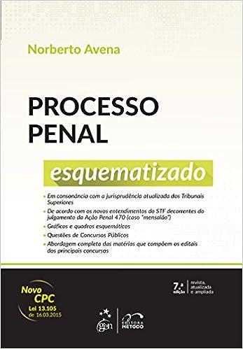 Processo Penal Esquematizado Norberto Avena Pdf