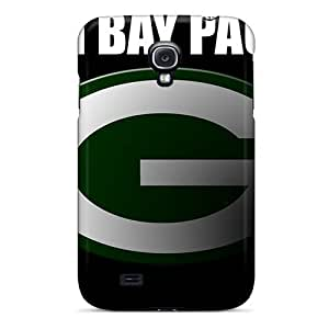 High Impact Dirt/shock Proof Case Cover For Galaxy S4 (green Bay Packers)