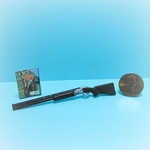 Dollhouse Shotgun/Rifle Magazine KL1706 - Miniature Scene Supplies Your Fairy Garden - Doll House - Outdoor House Decor (Figurine Magazine)