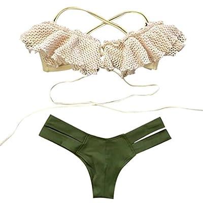 Hot Sale? Green Swimsuit,BeautyVan Fashion Design Swimsuit Sexy Swimwear Women Swim Charming Beach Wear Print Bandage Swimsuit