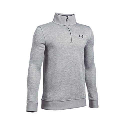 Under Armour Boys' Storm SweaterFleece 1/4 Zip, True Gray He