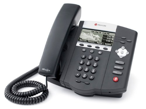 Polycom SoundPoint IP 450 with Power Supply by Polycom