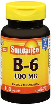 Sundance B-6 100 mg - 100 Tablets, Pack of 5