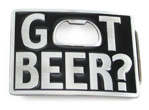 Black Got Beer Bottle Opener Belt Buckle