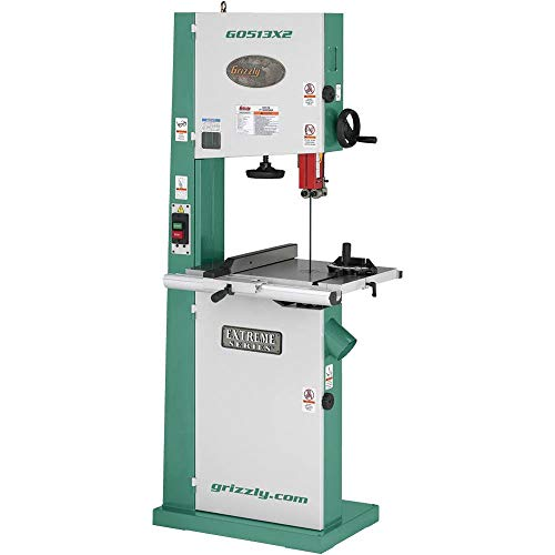 Grizzly G0513X2 Bandsaw with Cast Iron Trunnion, 2 HP, - Saws Grizzly