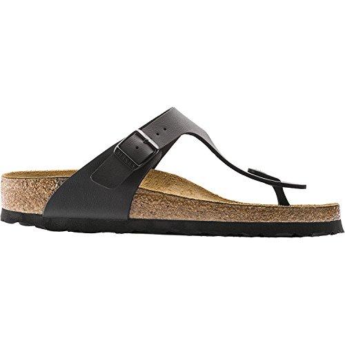 Birkenstock Women's GIzeh Thong Sandal, Black (Birko Flor), 38 M EU/7-7.5 B(M) US
