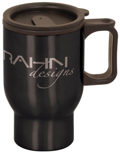 16 oz Personalized Stainless Steel Travel Mug with Handle - BRAND NEW