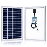ACOPOWER HY025-12P-CA 25W Polycrystalline Photovoltaic PV Solar Panel Module for 12V Battery Charger