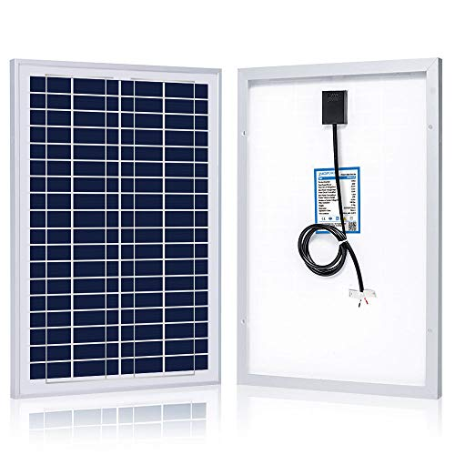 ACOPOWER 25 Watt 25W Polycrystalline Photovoltaic PV Solar Panel Module for 12 Volt Battery Charging