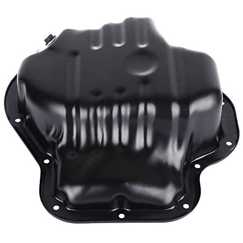 SCITOO Compatible with 264-317 Engine Oil Pan Steel Assembly Fits 01-13 L4 2.4L Cummins Diesel Scion t Toyota Camry Corolla Highlander Matrix Rav4 Solara Pickup ()