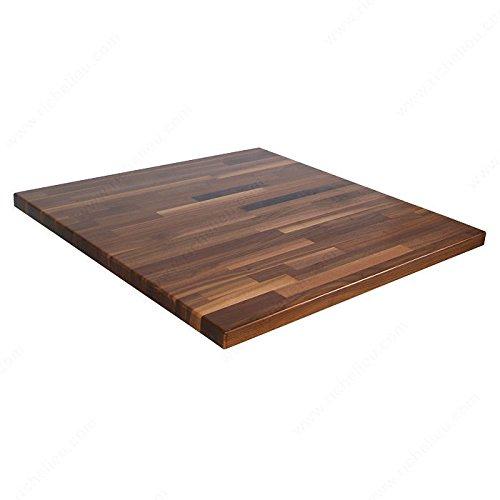 Countertops in Blended Wood, Width 48 in, Wood Species Walnut -