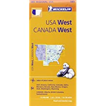 Michelin USA: West, Canada: West / Etats-Unis: Ouest, Canada: Ouest Map 585