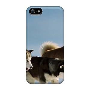 Excellent Design Animals Dogs Siberian Huskies Phone Case For Iphone 5/5s Premium Tpu Case