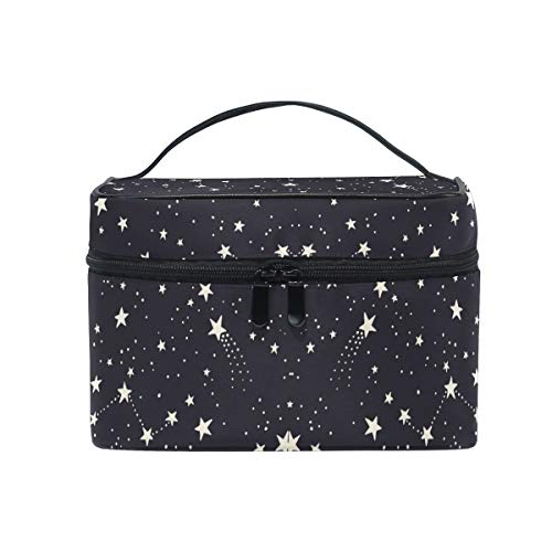 Makeup Bag Pentagram Star Space Travel Cosmetic Bags Organizer Train Case Toiletry Make Up Pouch