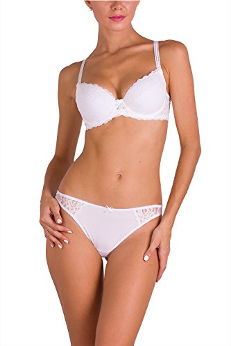 VPB 009 02088 Women Lingerie Lace Panties Sexy String Bikini Thong Underwear Gifts For Women Undies Pantys Briefs Thongs Valentine Day Presents, L White