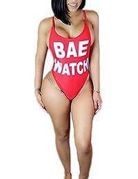 Women's Sexy Bodycon One Piece Backless Swimsuit Swimwear Bikini