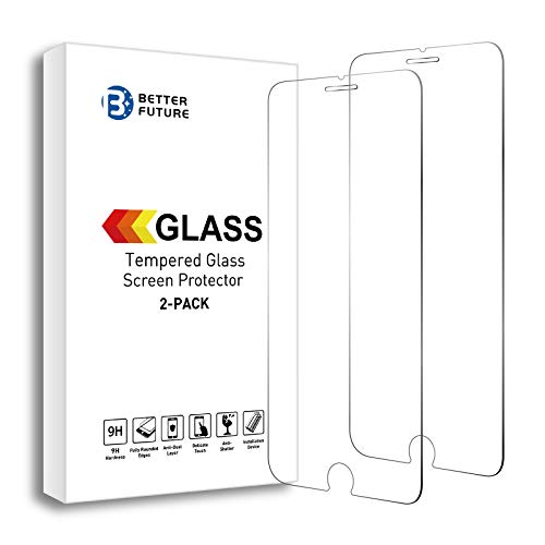 Screen Protector for iPhone 6/7/8,4.7 Inch,2 Pack,Tempered Glass Screen Protector for iPhone6/7/8,Not for Full Coverage