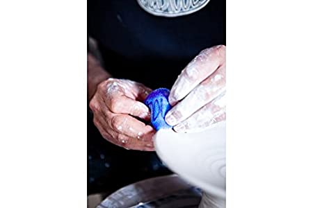 MudSponge Set of All 3 Sponge Tools for Pottery Wheel and Clay Artists Sherrill Mudtools