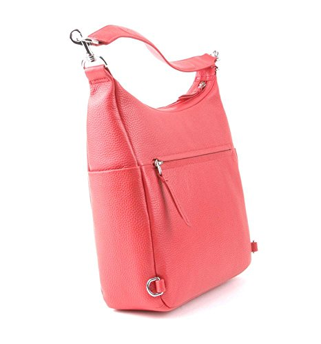 BREE Nola 10, Backpack S S18 - Borsa Donna, Rot (Massai Red), 9x32x28 cm (B x H T)
