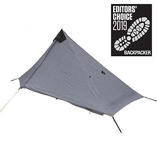 Six Moon Designs Lunar Solo - 26 oz. Gray, 1 Person Tent - 2019 Version (Best Wall Tent 2019)