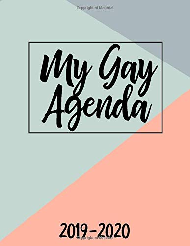 Amazon.com: My Gay Agenda 2019-2020: July 2019-December 2020 ...