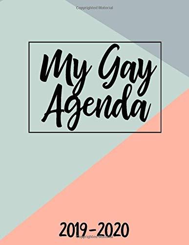 Amazon.com: My Gay Agenda 2019-2020: July 2019-December 2020 ...
