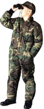 Kids Insulated Coveralls - 7