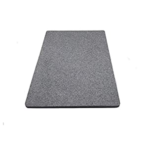 Wool Ironing Mat-Pad Made with 100% New Zealand Wool Pressing Pad Great for Traveling and Quilting Holds Heat When Pressing to Provide Professional Results Ironing Board Cover (Gray, 12X18)