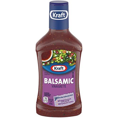 Kraft Balsamic Vinaigrette Dressing, 16 fl oz Bottle ()