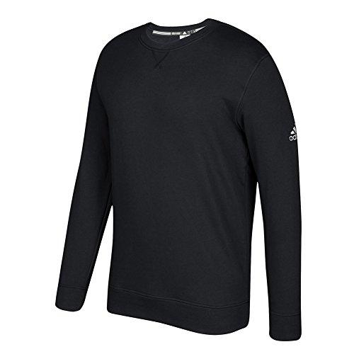 adidas Climawarm Fleece Crew Top M Black-White