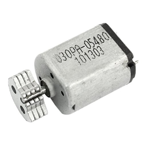 Uxcell DC1.5V-9V 0.08A 3200RPM Output Speed Micro Vibrating Motor, 18x15x12mm