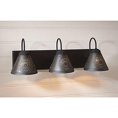 Crestwood Vanity Light in Black