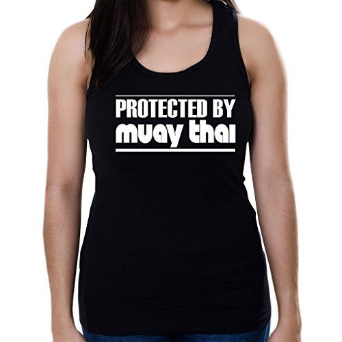 tag-express-protected-by-muay-thai-womens-tank-top-shirt