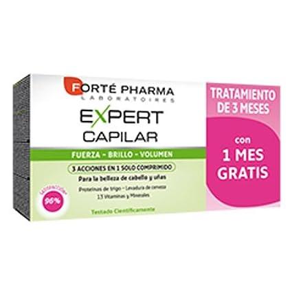 Forté Pharma Expert Capilar AHORRO 1 Mes Gratis 84 Comp.