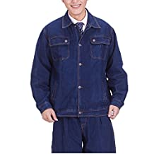 Roger Lee Workwear Man's Frock Loose Cotton Jeans Jacket