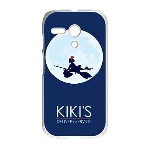 Motorola Moto G White Cases Cell Phone Case Xguro Kiki's Delivery Service Plastic Durable Cover