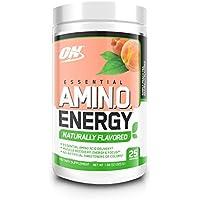 Essential Amino Acids w/ Green Tea & Green Coffee Extract, 25 Servings (Simply Peach Tea)