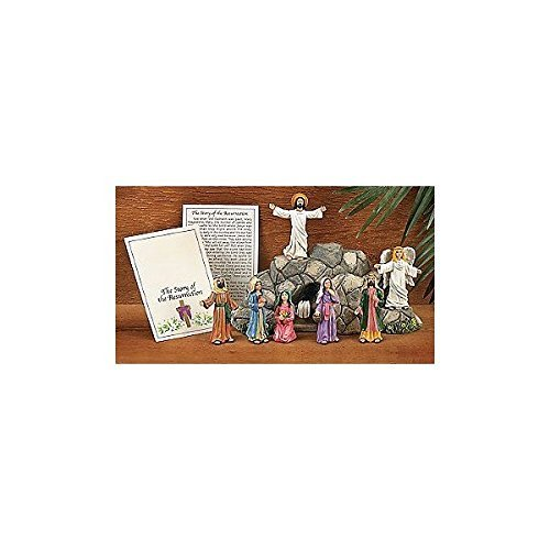 Easter Christ Resurrection Set 8 Pc Collection (Terrys Village)