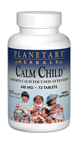 Planetary Herbals – Calm Child – 72 tabs