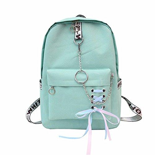 nylon back MSZYZ bag green shoulder bag MSZYZ Lady's nylon green back bag Lady's MSZYZ shoulder bag 7AwWxOUqEB