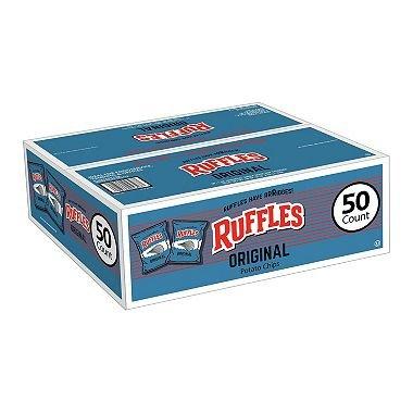 Ruffles Original Potato Chips (1 oz. bags, 50 ct.) by Frito Lay