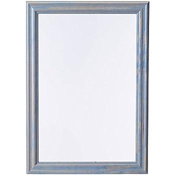 Amazon.com - ArtToFrames 12x18 inch Deep Periwinkle Barnwood Frame ...