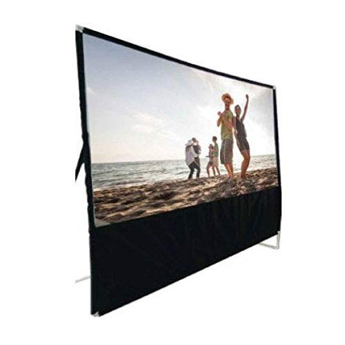 RCA INDOOR OUTDOOR 100'' DIAGONAL PORTABLE PROJECTOR SCREEN by RCA