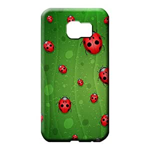 samsung galaxy s6 phone case cover Perfect Nice Protective Cases red lady bugs