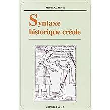 Syntaxe Historique Creole