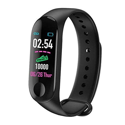 Almabner M3 Smart Bracelet,Blood Pressure Heart Rate Monitor Smart Wristband,Fitness Tracker,Step Counter Smart Watch…